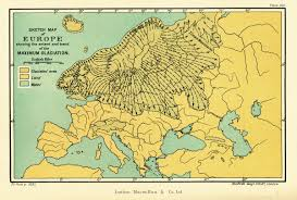 Europe Map 1914 The Ice Age On Twitter