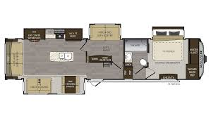 Keystone Cougar Fifth Wheel Floor Plans 2018 Keystone Avalanche 365mb Model