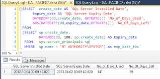 format date yyyymmdd sql sql server 2012 find expiry date of sql server