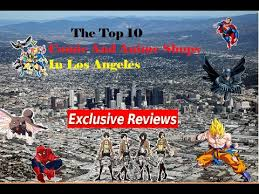 the top 10 and shops in los angeles