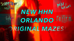 4 new original mazes for halloween horror nights orlando 2017