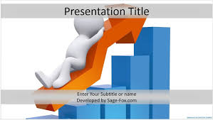 Free Sales Presentation Template Upward Trends Powerpoint Template Powerpoint Theme