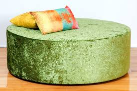 Ottomans Perth Oreo Large Upholstered Fabric Or Leather Ottoman Bespoke