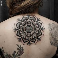 upper back mandala tattoo for best tattoo ideas gallery