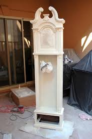 grandfather s clock the turquoise piano grandfather clock makeover
