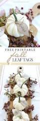 pumpkin leaves free printable thankful tree fall leaves and leaves