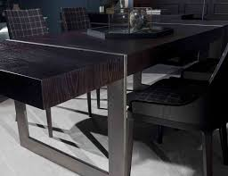 Italian Dining Room Table Nella Vetrina Agatha Luxury Italian Dining Table In Mocha Oak Wood