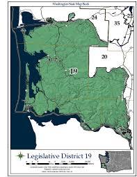 Seattle District Map by Washington U0027s 19th Legislative District Wikipedia