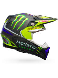 green motocross helmet bell hi viz monster energy 2017 moto 9 flex pro circuit replica mx