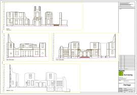 elevational drawings measured building surveys