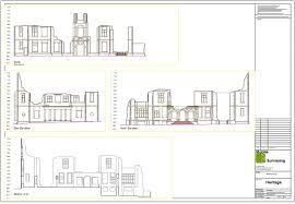 Floor Plan Survey Elevational Drawings Measured Building Surveys