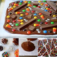halloween candy cake chocolate candy cake food