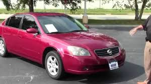 nissan altima 2005 tire size used 2005 nissan altima 2 5 s for sale at honda cars of bellevue