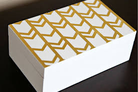 Yellow Decorative Box Iheart Organizing A Thrifty Decorative Storage Box