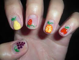 tutti frutti nails stamp nail art nail art fimo fruit best nail