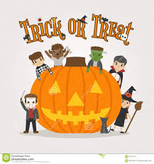 happy halloween vector set of halloween costume characters happy halloween trick or