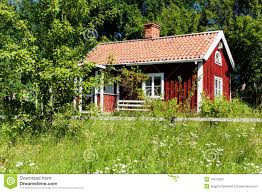 typical idyllic swedish house stock photos image 18972203