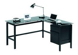 desk l shaped glass desk target l shaped glass top desk office