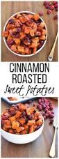 vegan gluten free thanksgiving recipes cinnamon roasted sweet potatoes u0026 cranberries recipe vegan