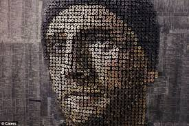 artist creates 3d portraits by drilling screws into wood metro news