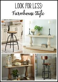 Look for Less Farmhouse Style The DIY Bungalow