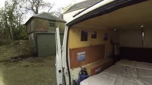 how to build a cheap campervan youtube