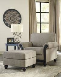 Traditional Bedroom Chairs - roy traditional oatmeal fabric chair w button tufting