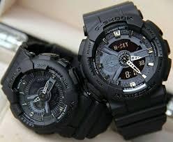 Jam Tangan Baby G jual jam tangan g shock baby g sepasang fullblack