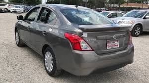 silver nissan versa new versa for sale in chicago il western ave nissan
