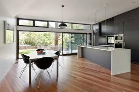 Sliding Door Design For Kitchen Kitchen Sliding Door Design Kitchen Contemporary With Recessed