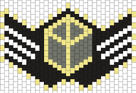 theme line yellow claw yellow claw 2 bead pattern peyote bead patterns misc bead patterns