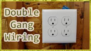 adding outlets u0026 double receptacle wiring youtube