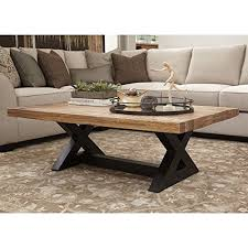 42 inch coffee table alaterre pomona reclaimed wood and metal 42 inch coffee table