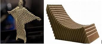 Cardboard Origami - cardboard cutting and drilling using omni cnc laser machines