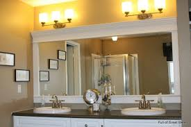 Bathroom Mirrors Ideas With Vanity Bathroom Wall Mirror Ideas White Framed Mirrors Intended For