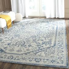blue and grey area rug bed u0026 bath solid blue rug