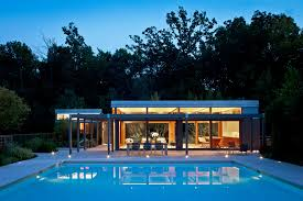 Pool House Midwest Pool House Architect Magazine Dirk Denison Architects
