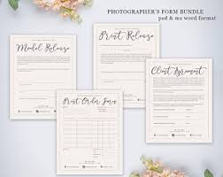 photography forms etsy