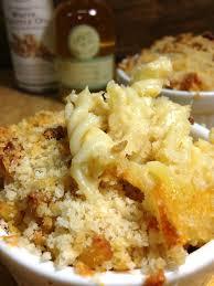 smoked gouda u0026 truffle oil mac and cheese with crispy panko