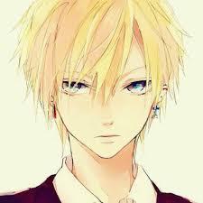 Cute Anime Hairstyles Anime Boy With Yellow Hair Anime Pinterest Yellow Hair