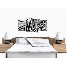animal canvas wall art of zebra for living room display gallery item 1