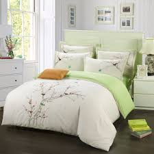 King Size Duvet Bedding Sets Embroidered Bedding Set 100 Cotton King