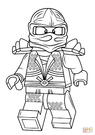 lego ninjago coloring pages lloyd at eson me