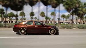 rose gold infiniti car hennessy edition infiniti g37 on 24