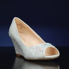wedding shoes wedges sparkly wedding shoes bridalshoes