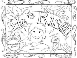 he is risen coloring pages free coloring page easter jesus in new
