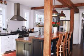 kitchen island with raised bar raised countertop designs walnut wood countertops for raised bar