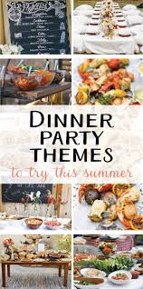Summer Entertaining Ideas 9 Creative Dinner Party Themes To Try This Summer On Love The Day