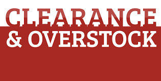 clearance overstock items
