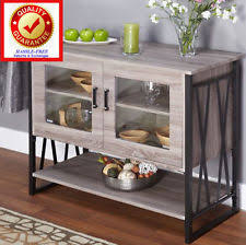 Metal Sideboard Buffet by Gray Metal Sideboards Buffets U0026 Trolleys Ebay